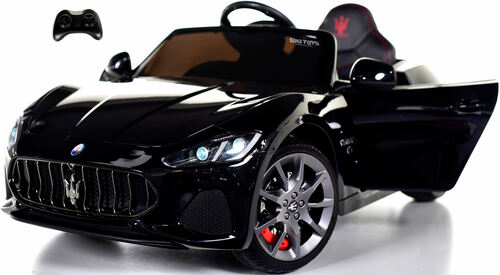 New Maserati GranCabrio Ride On Car w/ Remote Control & MP3 - Black