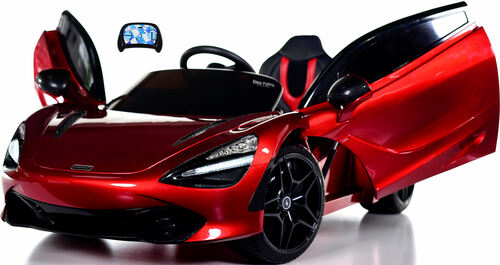 McLaren 720S 12V toddler Ride On Car w/ remote control & vertical doors - Red