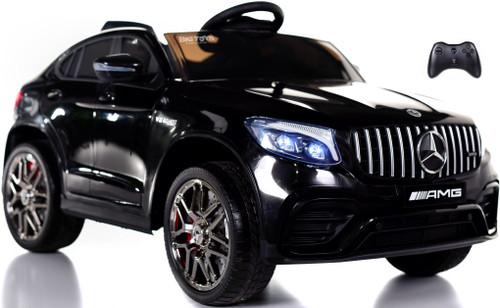 Mercedes GLC 63S Ride On SUV w/ All Wheel Drive & Rubber Tires - Black