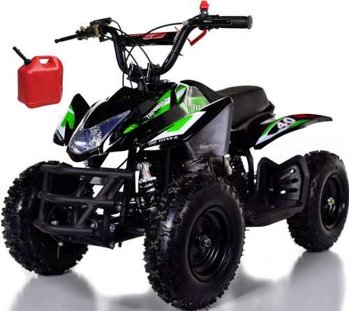 Titan 40CC Kids Mini 4 Wheeler ATV + FREE Shipping - Green