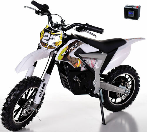 36v Rogue Demon Kids Electric Dirt Bike - Yellow