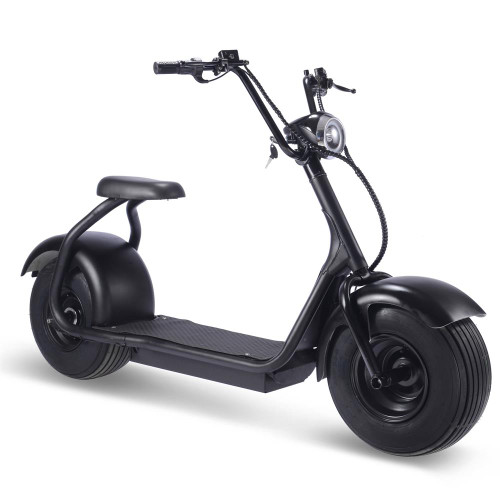 Fat Tire 60v 2000w Lithium Scooter - Black