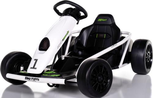 24v Mini Electric Drift Kart - White