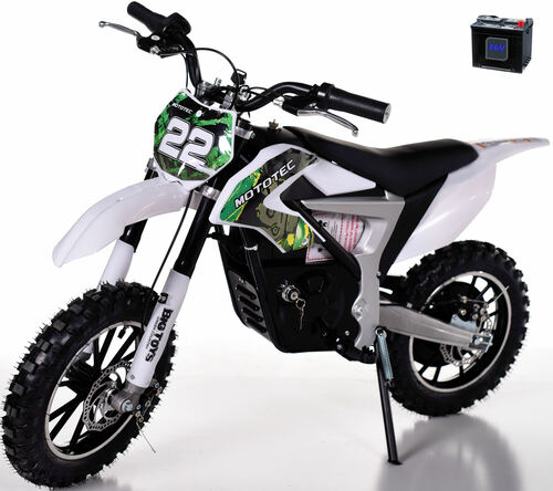 36v Rogue Demon Kids Electric Dirt Bike - Green