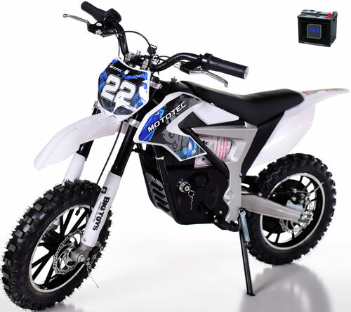 36v Rogue Demon Kids Electric Dirt Bike - Blue