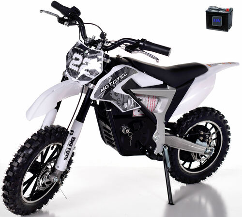 36v Rogue Demon Kids Electric Dirt Bike -Grey