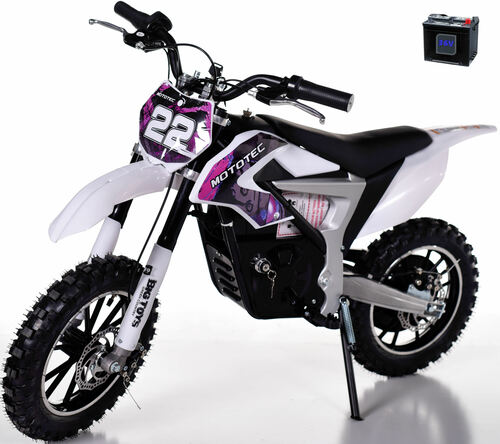 36v Rogue Demon Kids Electric Dirt Bike - Purple