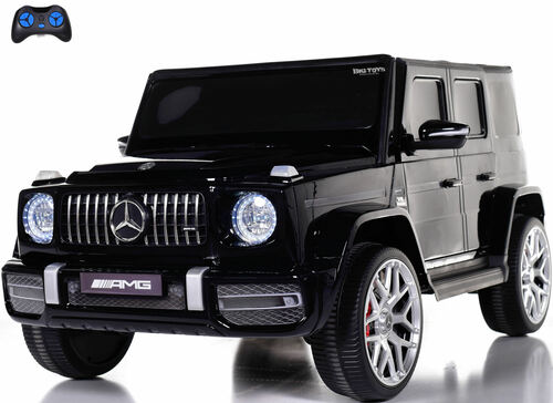 24v Mercedes G63 Ride On SUV w/ All Wheel Drive & Rubber Tires - Black