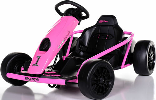 24v Mini Electric Drift Kart - Pink
