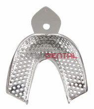 Impression Tray Lower, Large Perforated