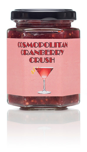 A burst of cranberries blended with spices and vodka - delicious with turkey, ham and cold meats 195ml