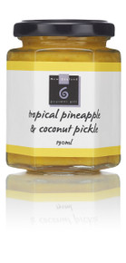 Reminiscent of hot summer days, beaches and palm trees - a delicious blend of pineapple, coconut and rum.  Perfect with cheeses or serve with ham. 195ml GLUTEN FREE