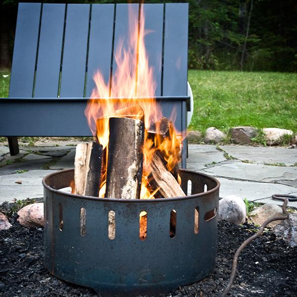 Steel Fire Ring Set