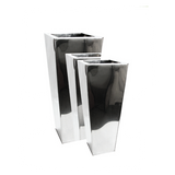 Stainless Steel Tapered Planter