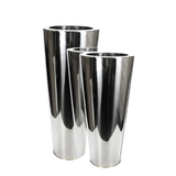 Stainless Steel Cone Planter