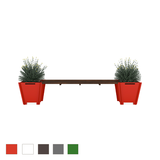 Flat-Pack Planter Bench
