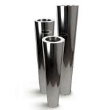 Stainless Steel Flute - Mirror Finish