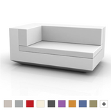 Vela Sectional Sofa Chaise Lounge Left