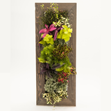 Tall Grovert Wall Planter- Ghostwood