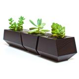 Boxcar Planter - Black