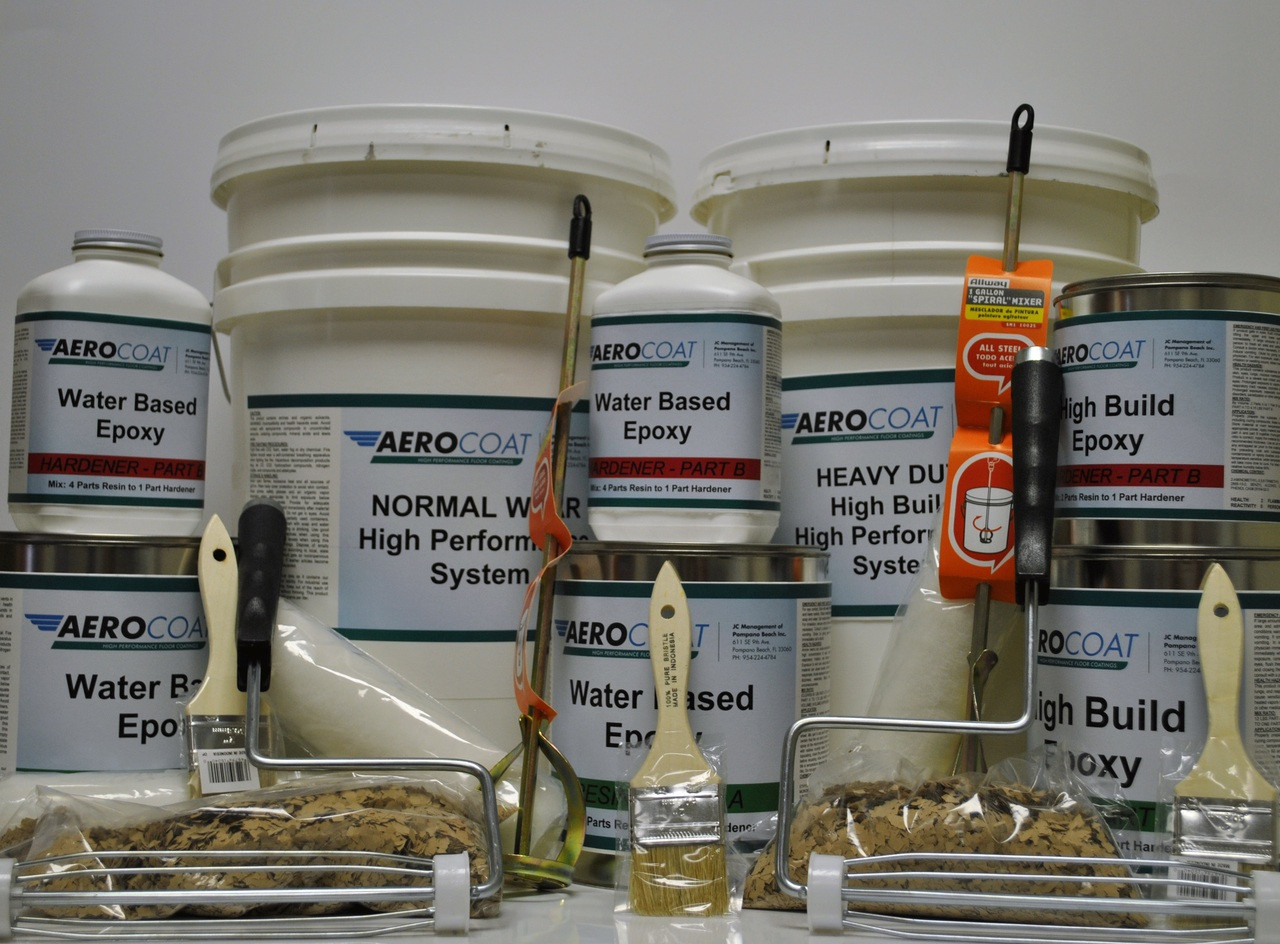 Aerocoat Water Based Epoxy Package 101 Choose 1 Or 2 5