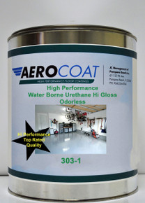 Aerocoat 303-1 Hi Perform Water Borne Urethane HiGloss Clear - Low Odor
