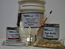 Aerocoat High Build Epoxy Package (Choose 1 or 2.5 car garage packs)