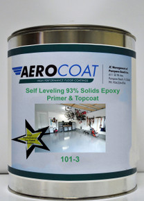 Aerocoat 101-3 COLOR Self Leveling 93% Solids Epoxy - Primer & Topcoat