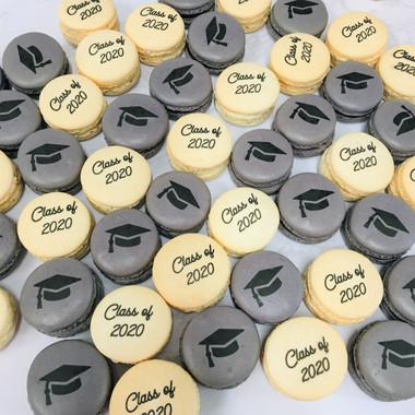 Graduation Macarons