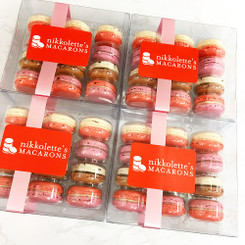 Valentine's Day Box - 12 French Macarons