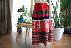 Colourful cotton skirt