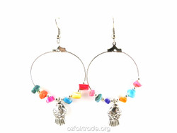 Fair trade casual earrings