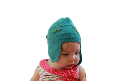 Fair trade alpaca beanie for baby