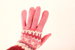 fairtrade winter gloves for girl