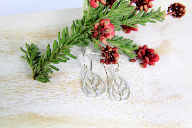 fair trade ethical silver jewellery earrings