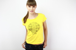 Super soft Cambodian lotus t-shirt (fitted) for purists