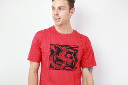 ethical red dragon men t-shirt