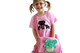 girl pink animal ethical t-shirt