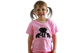 girl pink elephant fair trade t-shirt