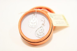 silver fair trade tree of life earring jewellery
