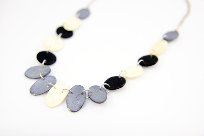 black ethical necklace