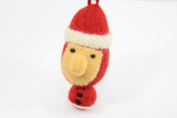 fairtrade Christmas tree ornament Santa