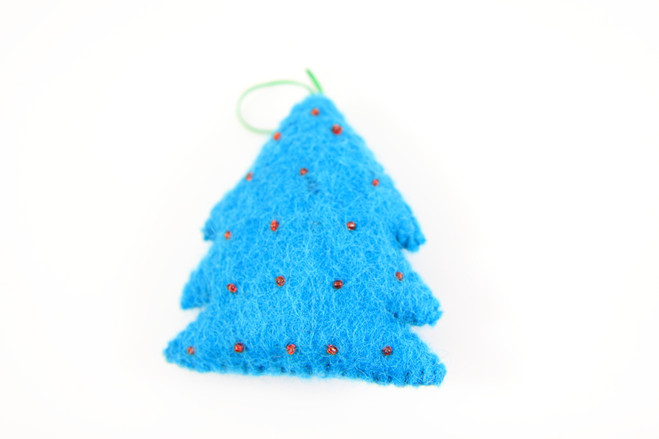 fair trade Christmas tree ornament