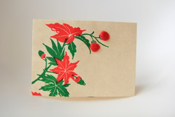 The Holly and the Ivy Christmas card ethical fairtrade