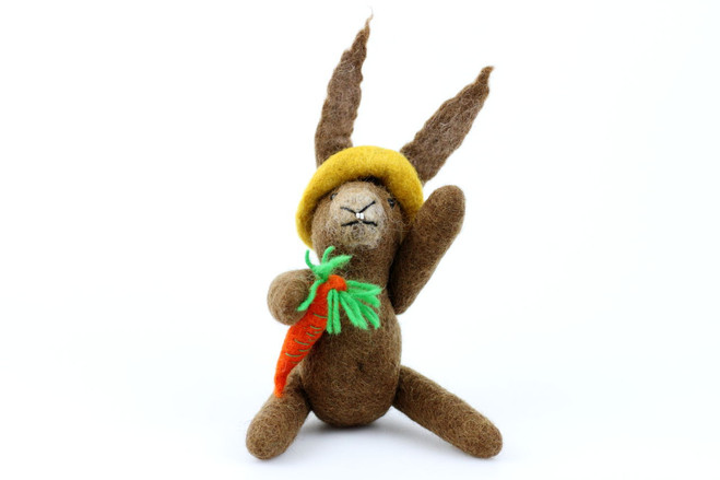 ethical easter rabbit toy