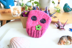 fairtrade wool felt pouch