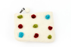 white felt purse for kids