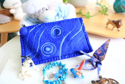 blue ethical purse