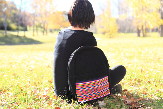 fairtrade colorful backpack