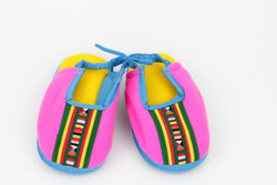 Padded kid's slippers (pink)